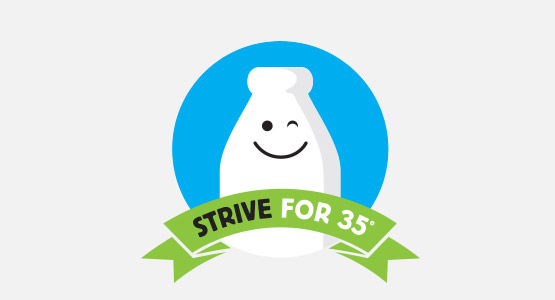 Strive for 35