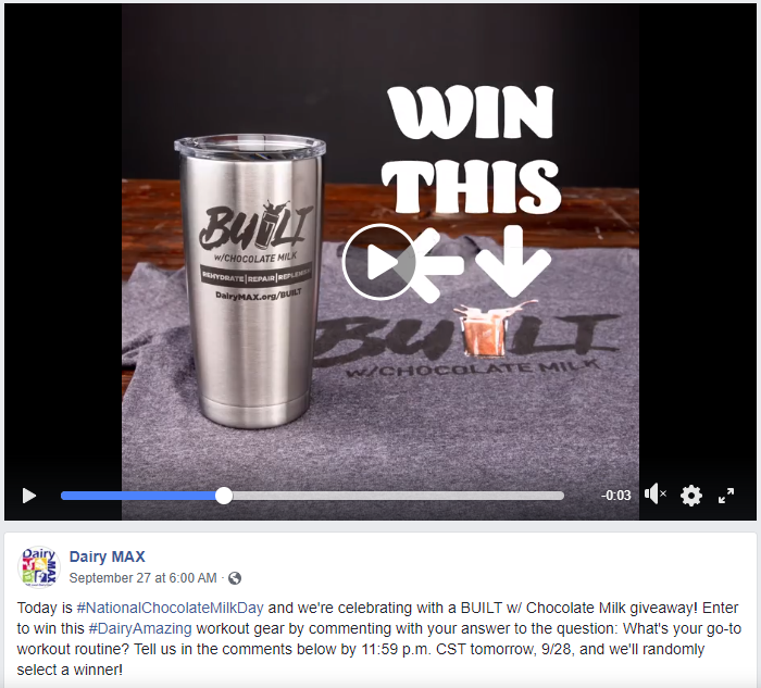 chocolate milk day contest