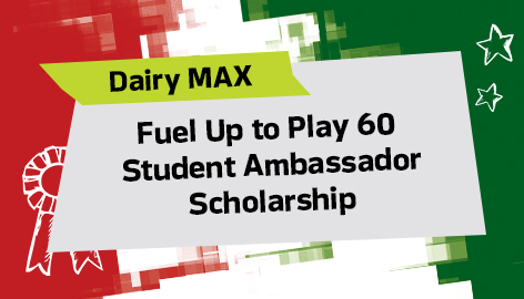 $1,000 Scholarships for Fuel Up to Play 60 Student Ambassadors