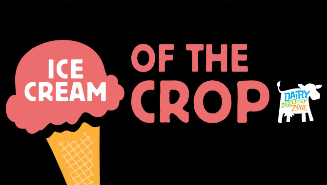 image that says ice cream of the crop