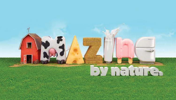 AMAZING by nature shows the goodness of dairy from farm to fridge.
