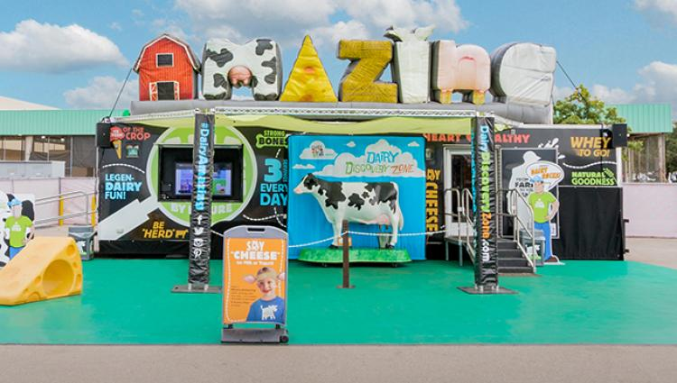 Dairy Discovery Zone Brings Dairy Farming to Consumers