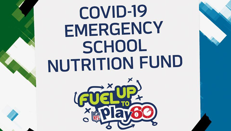 "graphic that says ""COVID-19 Emergency School Nutrition Fund"""